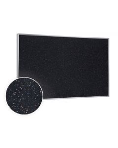 Aluminum Frame Recycled Rubber Tackboard