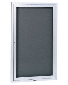"""Claridge Products Large Contemporary Series Bulletin Board Cabinet 3"""" housing- 21XX-3"""