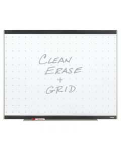 Quartet Platinum Total Erase Whiteboard - 3' x 4' - Graphite Frame Finish
