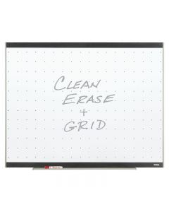 Quartet Platinum Total Erase Whiteboard - 4' x 6' - Graphite Frame Finish