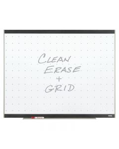 Quartet Platinum Total Erase Whiteboard - 4' x 8' - Graphite Frame Finish