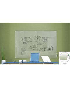 Harmony Frosted Glass Markerboards