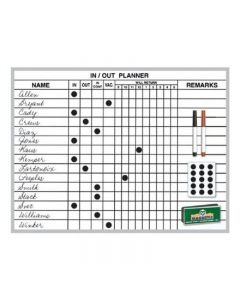 Magna Visual In/Out Planner Board Kits