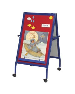 Magnetic Flannel Easel on Wheels (MFE)