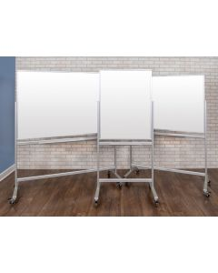 Luxor Mobile Magnetic Glass Markerboards