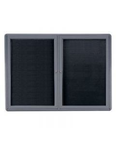 """Ghent Ovation Changeable Letter boards 34"""" x 47"""" - OVX2-XXX Black"""