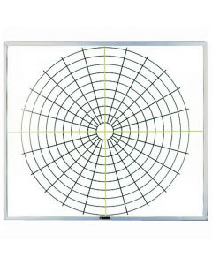 Claridge Products Polar Coordinate System Whiteboard - PC16L