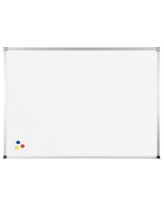 Best-Rite Porcelain Steel Whiteboard with ABC Aluminum Trim
